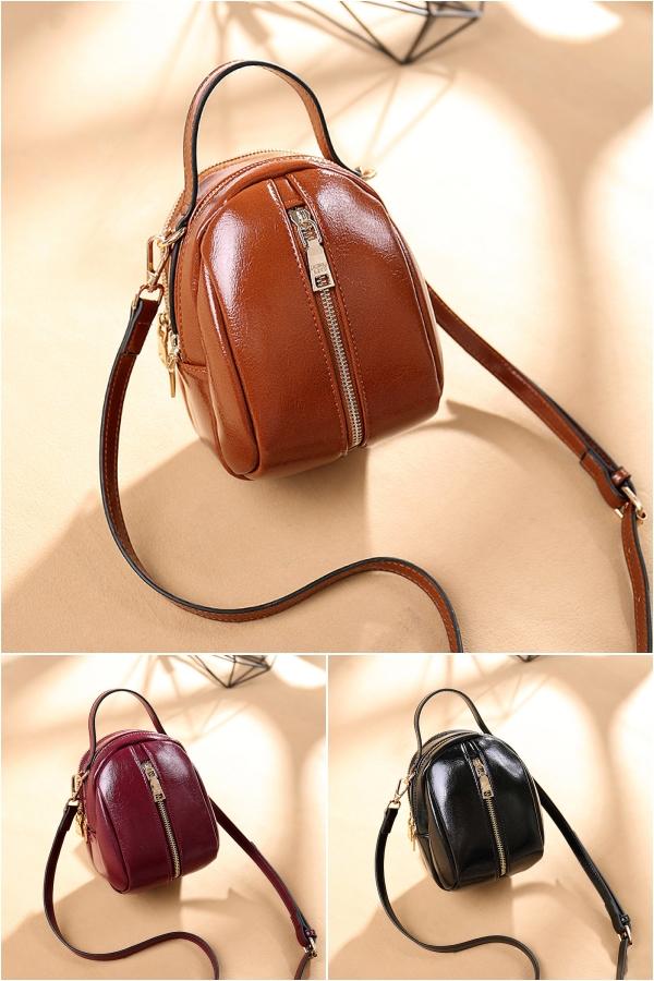 女士小包包新款韩版纯色小手提包女手拎小号女包背挎两用小背包潮